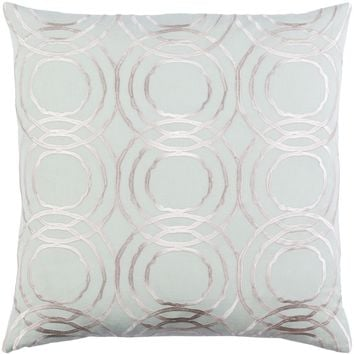 Ridgewood Throw Pillow Green, Neutral