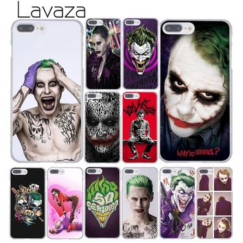 Lavaza 778Fdc Batman Dark Knight Joker Karta joker Hard Phone Case for Apple iPhone 8 7 6 6S Plus X 10 5 5S SE 5C 4 4S