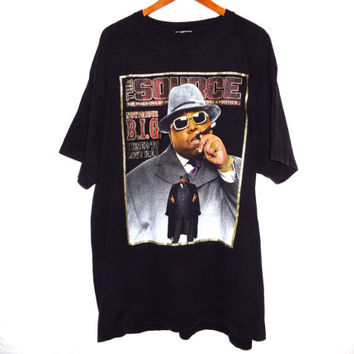 Vintage 90s Notorious B.I.G. Biggie Smalls Shirt - XXL -