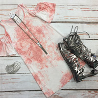 Spring Time Cutie Tunic Dress: Pink