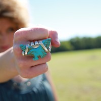 FLY LIKE AN EAGLE RING - Junk GYpSy co.