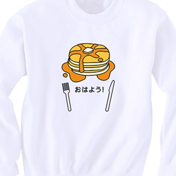 Morning Pancake Sweater
