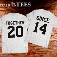 T-shirts Together Since 2014