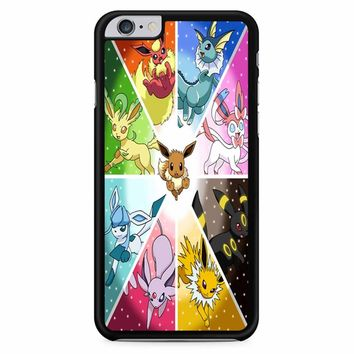 Pokemon The Eeveelutions iPhone 6 Plus / 6S Plus Case