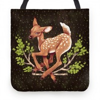 Forest Peaceful Fawn