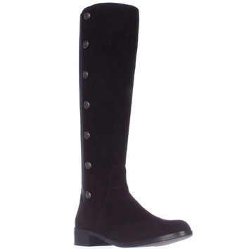 Vince Camuto Jacilla2 Buttoned Tall Back Strech Boots - Black