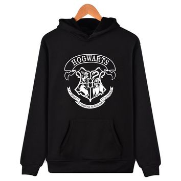 Hogwarts Men Hoodies And Sweatshirt Cool And Fashion Clothes HOGWARTS Streetwear Hogwart Deathly Hallows For Lady Fleece