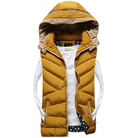 Men's Winter Casual Sleeveless Vest