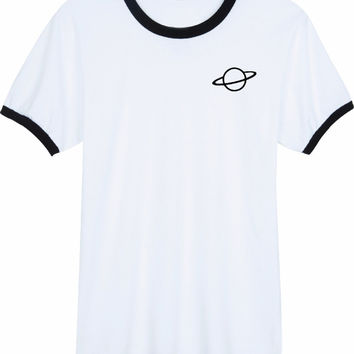 Saturn Women's Casual T-Shirt