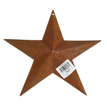 Metal Rustic Stars Christmas Decor, 11-Inch