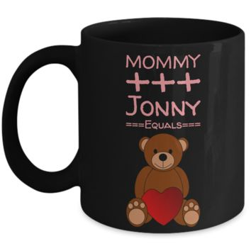 Black Vday Coffee Cup with Saying - Valentine Gift for Kids & Adults - Valentines Day Candy Gift - Pencil Holder, Candy & Chocolate Cup for Valentine's Day 2017