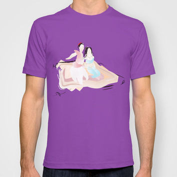 Disney - Aladdin & Jasmine T-shirt by Jessica Slater Design & Illustration