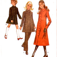 UNCUT Coat and Trousers Pattern / Vintage Supplies / Style 2961 Sewing Pattern