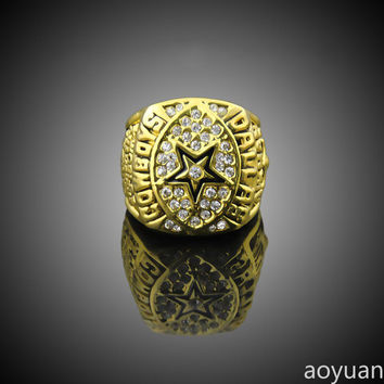 aoyuan Championship rings,NFL 1992 Dallas Cowboys Super Bowl Champion Rings, sports fans rings,