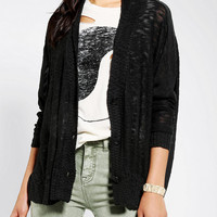 Lucca Couture Slubby Slouch Cardigan