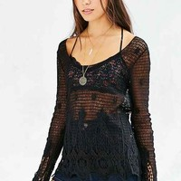 Ecote Eden Crochet Top
