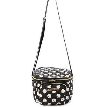 Betsey Johnson Tie The Knot Polka Dot Lunch Tote | Dillards
