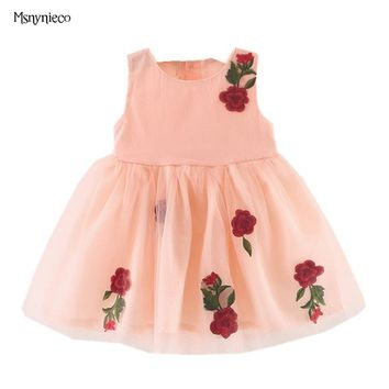 Summer Baby Girl Dress 2017 New Princess Sofia Dress Baby Girls Party for Toddler Girl Dresses Clothing tutu Kids Clothes