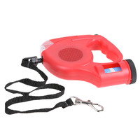 4.88M 25Kg Retractable Automatic Large Dog Pet Leash For Running Hiking Removable LED Light Mini Dustbin Pulling Rope