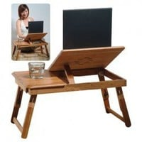 Top Grade Life Style Bamboo Notebook Desk China Wholesale - Sammydress.com