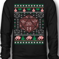 EXCLUSIVE D&D Ugly Christmas Sweatshirt / Tee - Limited Edition!