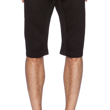 Stampd Neoprene Dropped Short in Black
