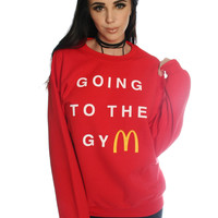 GOING TO THE GYM SWEATSHIRT