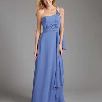 Allure Bridals Long Chiffon Bridesmaids Dress 1378