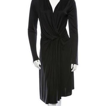 balenciaga silk dress 8