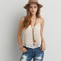 AEO LACE SWING CAMI