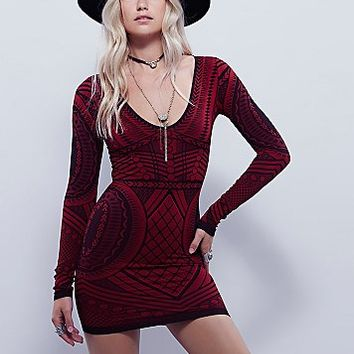 Intimately Womens Not An Illusion Bodycon