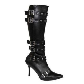Pleaser Female 3 3/4 Inch Heel,Sexy High Heel Pirate Costume Boot SPICY138