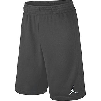 Nike Boys Dri-Fit Jordan Basketball Shorts, Dark Grey, Medium, 951532 176