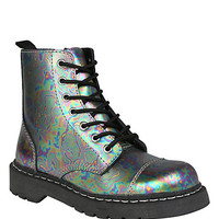 Anarchic By T.U.K. Oil Slick Combat Boot