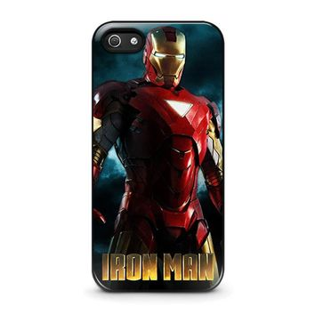 iron man 3 iphone 5 5s se case cover  number 1