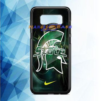 Michigan State nike Samsung Galaxy Note 8 Case Planetscase.com