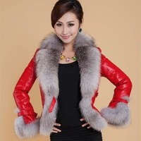 Elegant Long Faux Fur Coat fluffy Jacket Winter Women Thick Warm Faux Fur Coats With Thicken White Black Plus Size