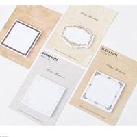 Mo.Card Retro Memories sticky notepad paper message note Memo pad