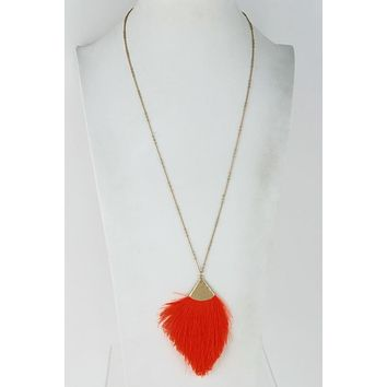 Summer Feather Necklace
