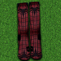 Spideman Socks,Custom socks,Personalized socks,Elite socks