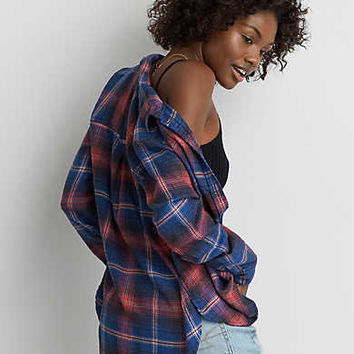AEO Ahh-mazingly Soft Plaid Shirt , Multi