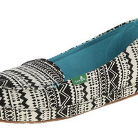 Sanuk Mirage Tribal Black Slip-On Loafers