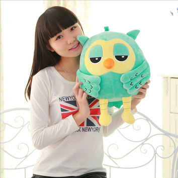 20CM Popular Night Owl Plush Toy Baby Toys Stuffed Animal Doll 2 Colors Soft Baby Birthday Gifts Kids Toy PT041