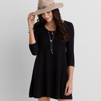 AEO STITCHED SWEATER DRESS
