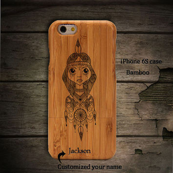 Indian Dreamcather Teens iPhone 6s Plus 6 plus 5s 5 4 4s 5c Phone case,Samsung Galaxy S6 S6 edge plus S5 S4 S3 wooden phone cases A269