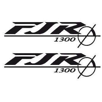 BIKE CHOPPER GAS TANK FLAMES TRIBAL VINYL DECAL STICKER YAMAHA LOGO  FJR 1300 12