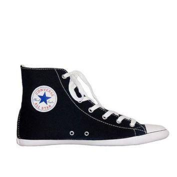 DCKL9 Converse All-Star Chuck Taylor Lite Hi Top - Black Canvas High-Top Sneaker