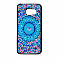 Flowers Sea Pattern Samsung Galaxy S6 Case