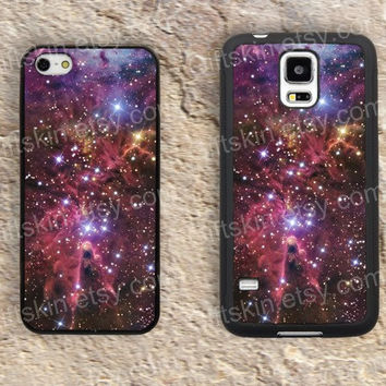 Fox Nebula colorful  iphone 4 4s iphone  5 5s iphone 5c case samsung galaxy s3 s4 case s5 galaxy note2 note3 case cover skin 174
