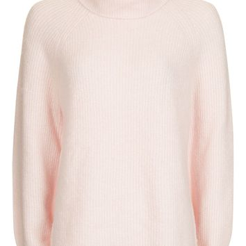 Oversized Blouson Roll Neck Jumper | Topshop